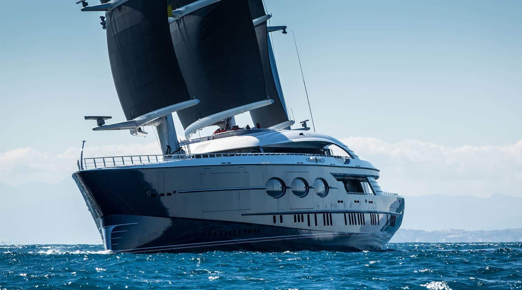 Oceanco's Black Pearl: The Largest Dynarig Sailing Yacht in