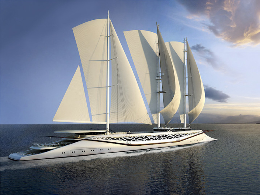 Top 8 Largest Sailing Yachts In The World Yacht Haven Phuket